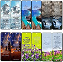 Popular Healing Bible Verses Bookmarks Cards (12-Pack)- Encouraging Scriptures Prayers for Health - Inspirational Christian Encouragement Gifts for Men Women Friends Patient Hospital Ministry