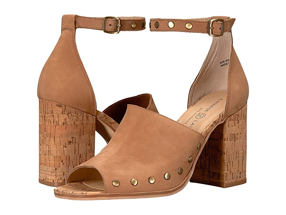 Chinese Laundry Savana Sandal (Natural) High Heels