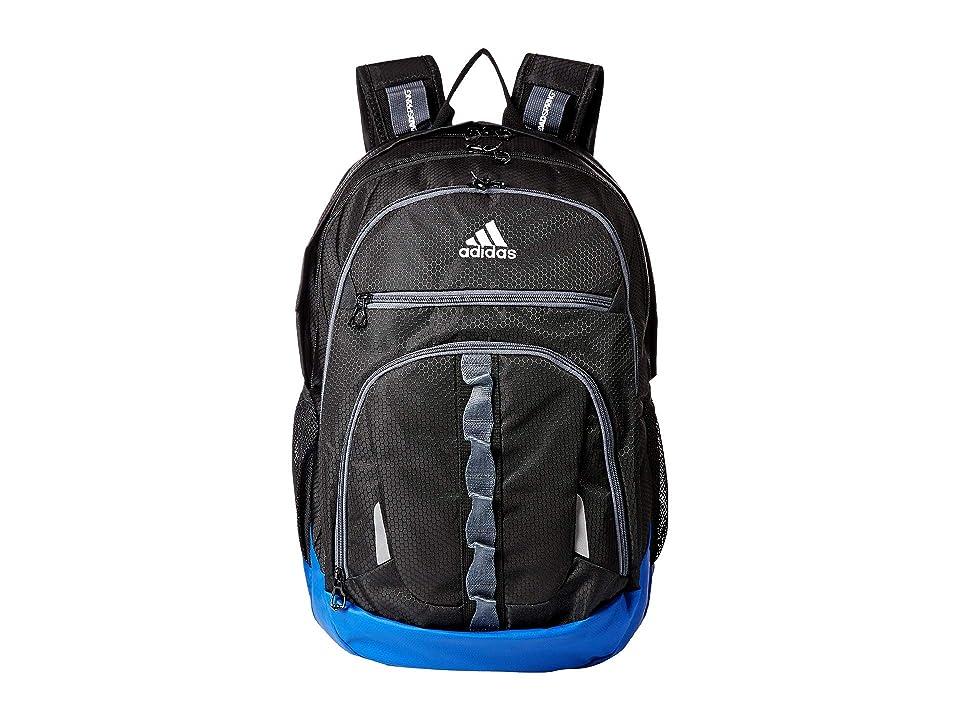 adidas Prime IV Backpack (Black/Collegiate Royal Blue/Onix) Backpack Bags