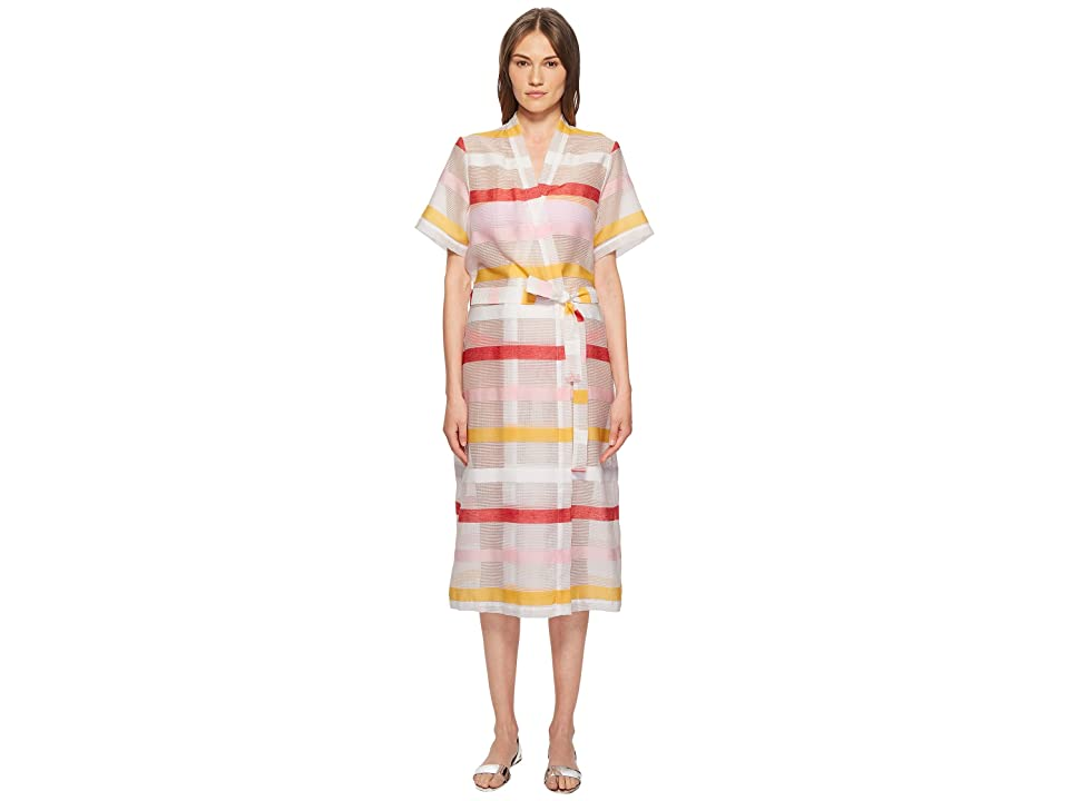 FLAGPOLE Carmen Robe Cover-Up (Multi Stripe) Women