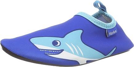 Playshoes Uniseks badslippers aqua-schoenen haai