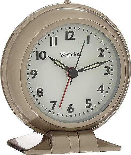 Westclox 90010A Metal Big Ben Alarm Clock Silver