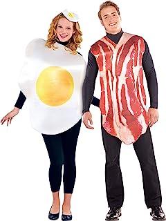 Disfraz de Huevo y disfraz de Bacon