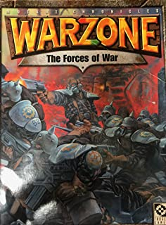 Warzone 2nd Edition: The Forces of War (Mutant Chronicles)