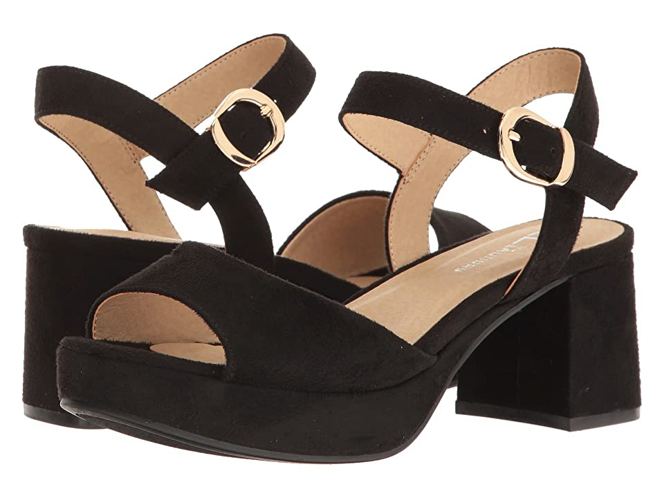 CL By Laundry Kensie (Black Super Suede) High Heels