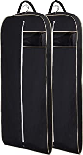 Misslo Breathable 54 Suit/Dress Black Garment Bag Pack of 2