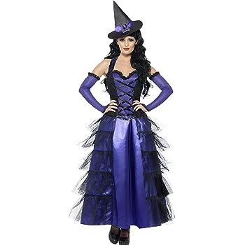 Smiffys - Disfraz de bruja, talla L (29633L): Amazon.es: Juguetes ...