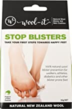 Wool-it Blister Prevention Hiking, Walking, Diabetic, Padding | 100% Natural New Zealand Wool 30g