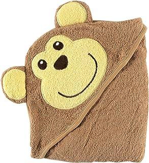 Luvable Friends ラバブルフレンズ Animal Face Hooded Towel アニマル フェイス フード付きバスタオル Monkey モンキー
