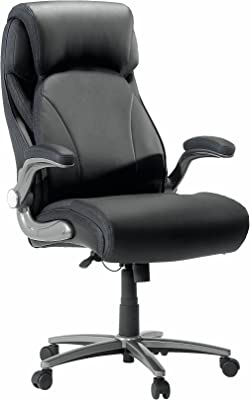 Sauder Big and Tall Office Chair, Black finish