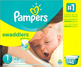 pampers swaddlers 148 count size 1
