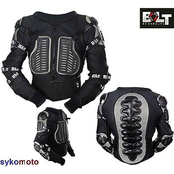 12yrs Large Bolt Core-1 Kids Body Armour Motocross Trail Pit ATV BMX MTB Mini Bike Crash Protection