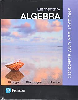 Elementary Algebra: Concepts and Applications with Integrated Review and Worksheets Plus Mylab Math with Pearson E-Text --...