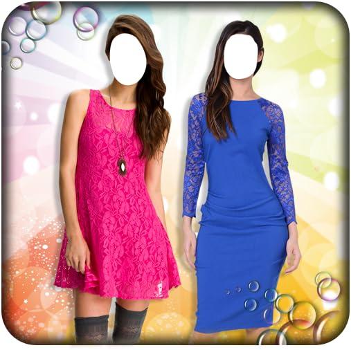 Women Lace Dress Photo Suit product image
