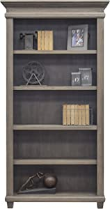 Martin Furniture Open Bookcase, Weathered Dove