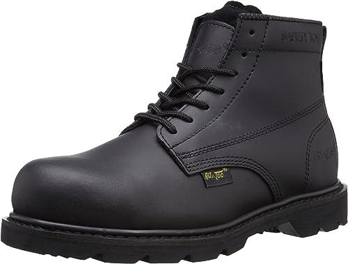 Adtec Men's 6 Inch Composite Toe Stiefel-M Uniform, schwarz, 11.5 M US