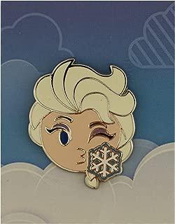 Disney Pin - Emoji Blitz Booster Set - Elsa Blowing Kiss Only