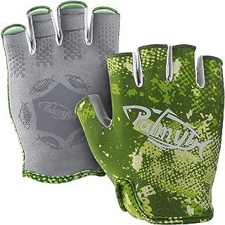 Palmyth Stubby UV Fishing Gloves Sun Protection Fingerless Glove Men Women UPF 50+ SPF..