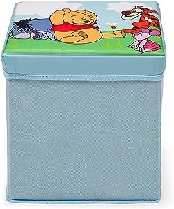 DELTA Winnie The Pooh Faltbarer Sitzhocker (Blau)
