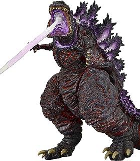 "NECA 12"" Head-to-Tail Action Figure, Atomic Blast Shin Godzilla (2016), Brown"
