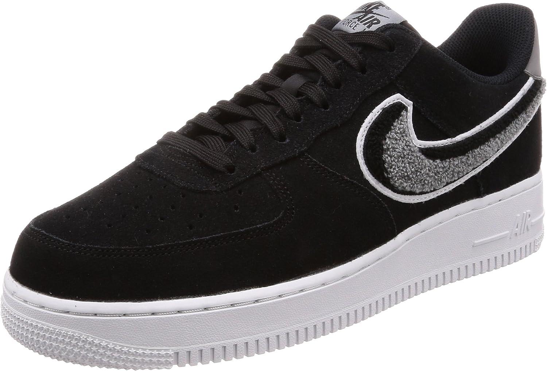 Nike Herren Air Force 1 '07 Lv8 Turnschuhe, schwarz
