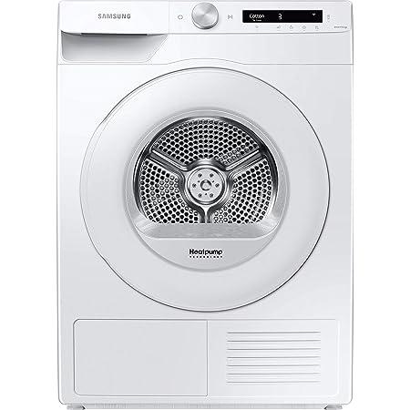 Samsung Sèche-linge à pompe à chaleur DV80T5220TW/S2-8 kg - A+++ - Simple Control avec WiFi et Auto Cycle Link - Moteur Inverter numérique - Protection anti-froissement et confort - Filtre 2 en 1