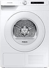 Samsung DV80T5220TW/S2 Wärmepumpentrockner 8 kg / A / Simple Control mit WiFi und Auto Cycle Link / Digital Inverter Motor mit 10 Jahren Garantie / Knitterschutz und Komfort 2-in-1 Filter