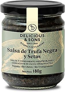 Delicious & Sons Salsa de Trufa Negra y Champiñones 180g