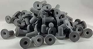 ReefCreators 100 Micro Black Ceramic Acro Frag Plugs 3/4
