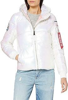 ALPHA INDUSTRIES Women's Hooded Puffer NASA Wmn Jacket