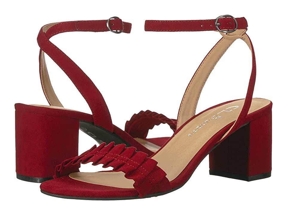 CL By Laundry Jamz (Dark Cherry Red Suede) High Heels