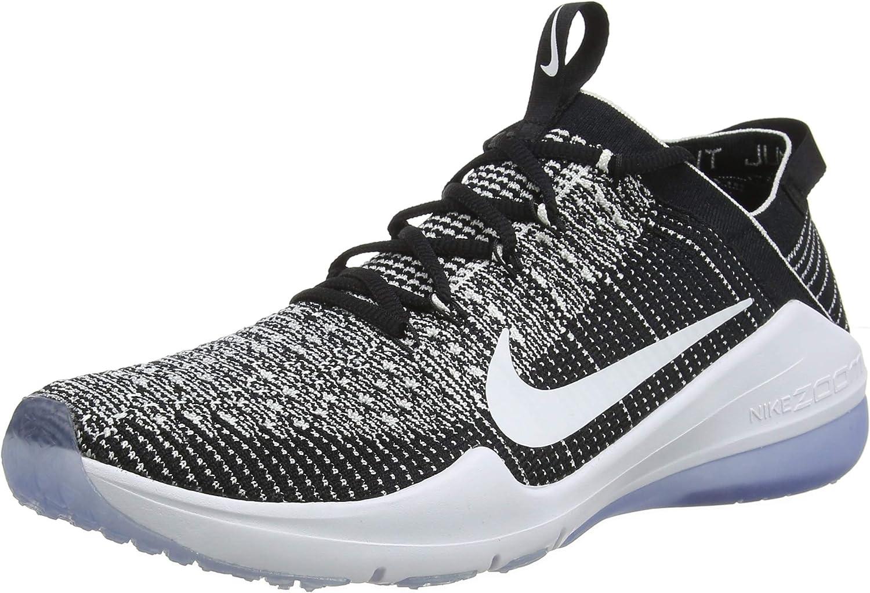Nike W Air Zoom Fearless Fk 2 Womens Aa1214-001 Size 7 Black White