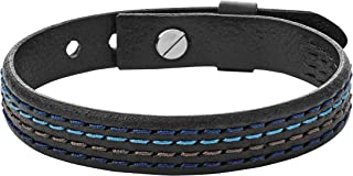 Fossil Men's Multicolour Wrap Bracelet JA6924040