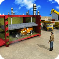 Extreme wrecked truck driving & crane missions Operate heavy cranes, hydraulic compactor & extreme shredder Drive dumpster truck driver and heavy duty machinery Real crane physics and flawless monster truck controls Astonishing 3D graphics with amazi...