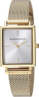BCBGMAXAZRIA Women's Classic Japanese-Quartz Watch with Stainless-Steel Strap, Gold, 11.6 (Model: BG50907001)
