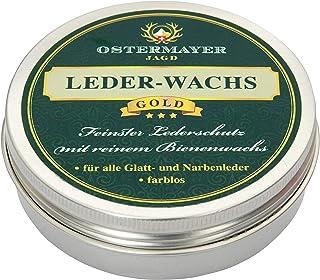 Ostermayer Jagd Premium Leder-Wachs 50g Bienenwachs Lederpflege