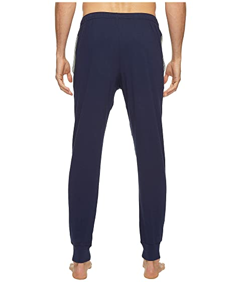 de Ralph de Lauren corte Jugador de de jersey polo marino Polo Polo jogger Amarillo Pantalones relajado Azul twqdx5nBX