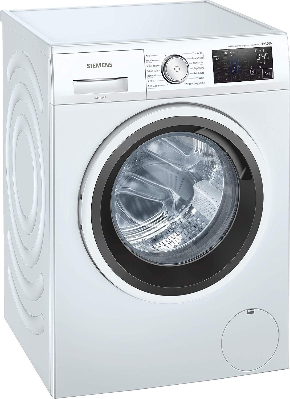 Siemens WM14UP40 iQ500 Lavadora / 9 kg/C / 1400 rpm/función varioSpeed/función de llenado/waterPerfect Plus - Consumo eficiente de agua