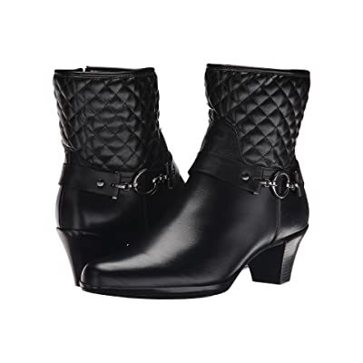 Munro Laconia (Black Leather/Polyurethane) Women
