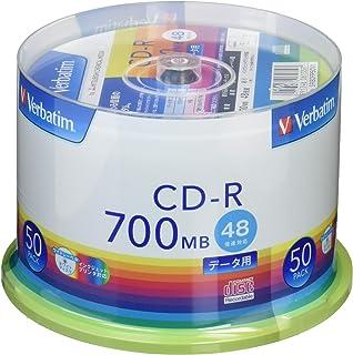 日本市場で強力 Verbatim Japan 50 CD-R 700MB(1回限りの録音用)..