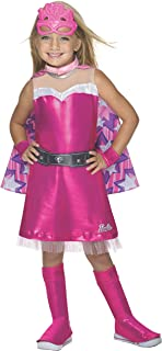 Rubie's Barbie Princess Power Super Sparkle Deluxe Costume, Child's Medium