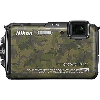 Nikon デジタルカメラ COOLPIX AW110 防水18m 耐衝撃2m ディープカムフラージュ AW110DGR