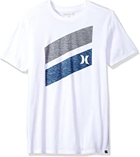 Hurley Men's Premium Icon Slash Graphic Short Sleeve Tee Shirt