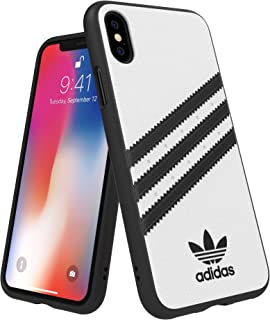 adidas OR Moulded Case PU FW18 for iPhone X/Xs, White