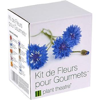 Il Kit Fiori Gourmet di Plant Theatre – 6 varietà di fiori commestibili da coltivare – regalo ottimale