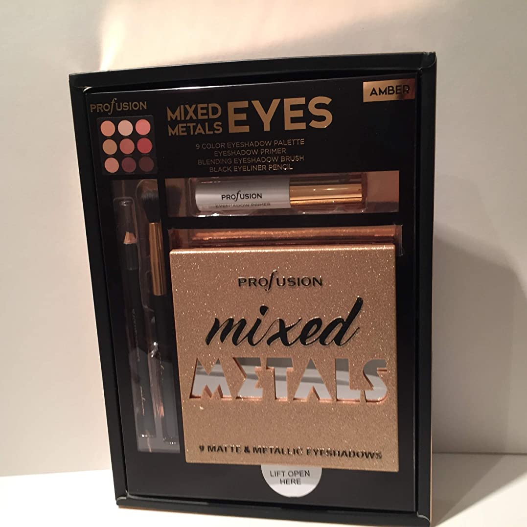 PROFUSION Mixed Metals & Eyes Palette - Nude (並行輸入品)