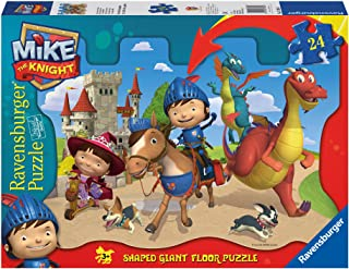 Mike The Knight: Mike and His Friends Shaped Floor Puzzle, 24-Piece