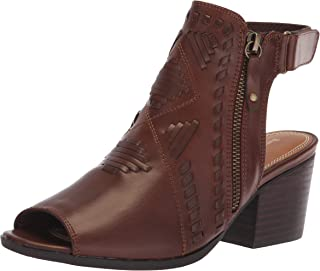 BareTraps Womens Ivalyn Faux Leather Peep Toe Booties