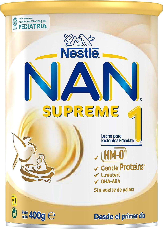 NAN Supreme 1, Leche de crecimiento para bebé - 400 gr.
