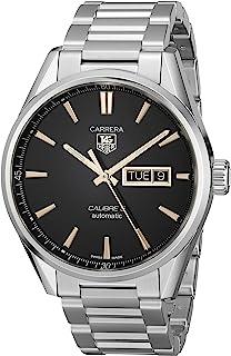 TAG Heuer - Reloj de Pulsera de la Marca TAG Heuer. Analógico, automático, para Hombre, Hecho de Acero Inoxidable WAR201C.BA0723